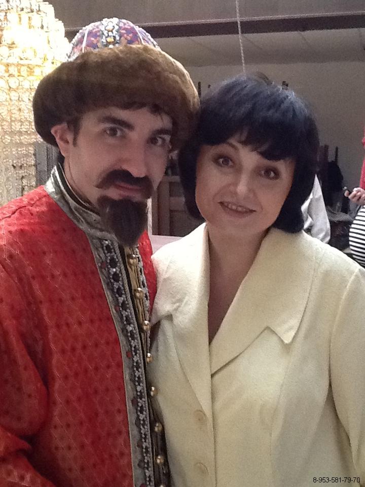 Корпоратив в стиле фильмов Гайдая. Иавн Васильевич меняет профессию