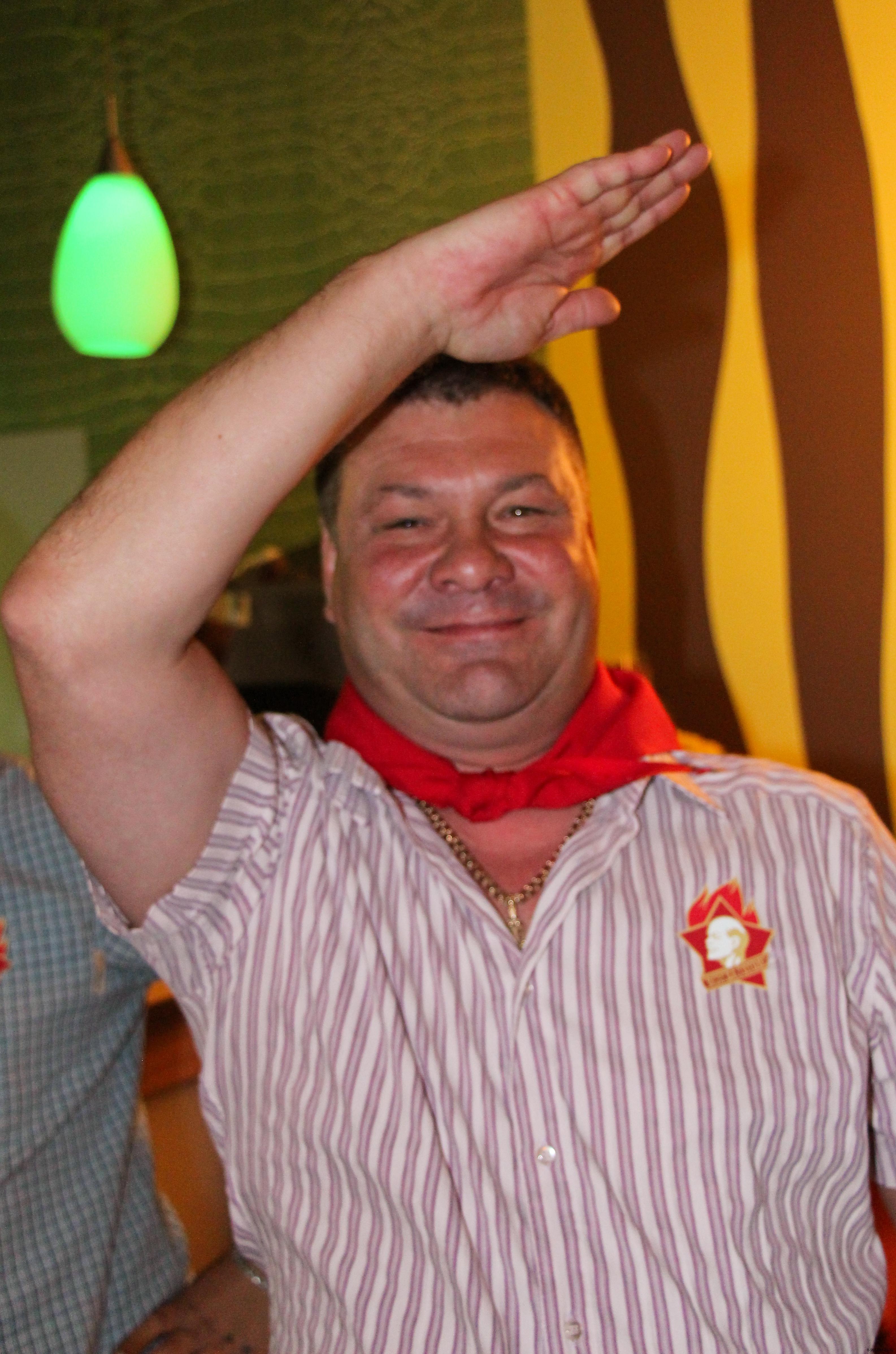 Юбилей в стиле СССР.