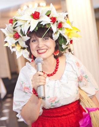 Елена Шеремет, тамада