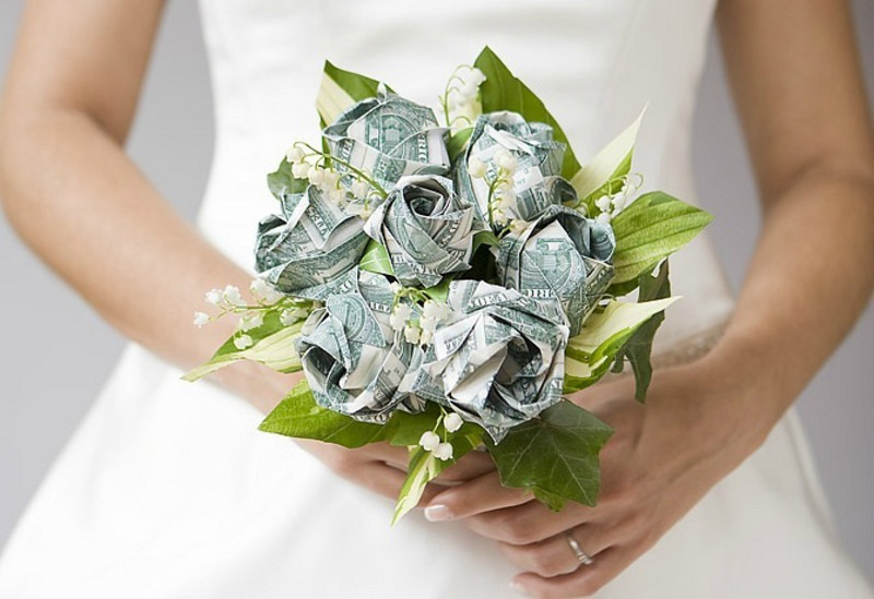 Букет невесты - свадьба, тамада